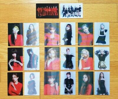 TWICE 2019 World Tour TWICELIGHTS Official Lenticular Photocards 2pcs Set