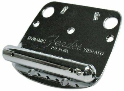 FENDER Mustang™ Tremolo Assembly, Chrome