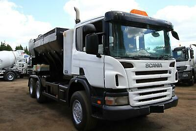 2005 Scania P340 6X4 Volumetric Mixer Concrete Mixer Mobile Plant Truck 8X4 Daf