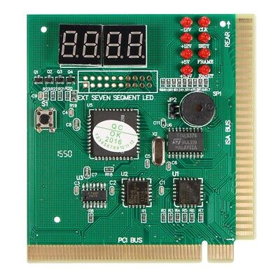 20X(Diagnostic PCI 4-Digit Card PC Motherboard Post Checker Tester Analyzer 8O3)