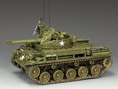 """King & Country Vn033 Vietnam War 'Tet' 1968  U.s. Army M42 """"The Duster""""   Mib!"""