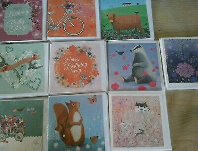 50 Well Mix Cards, Wholesale Joblot Greeting Cards