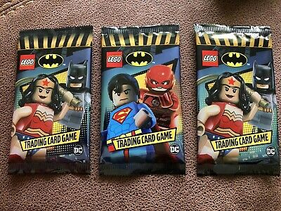 Lego DC Batman Trading Card Game - 5 Cards In Each Packet NEW