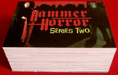 HAMMER HORROR - Series Two - COMPLETE BASE SET of 81 cards - Cornerstone 1996
