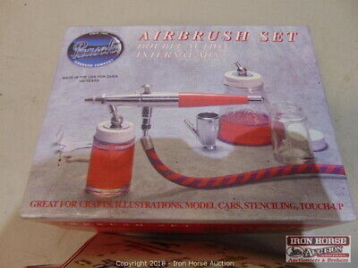 New Paasche Airbrush Set
