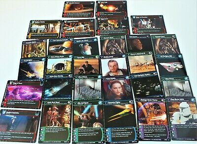 30 x STAR WARS ATTACK OF THE CLONES TRADING GAME CARDS. UK DISPATCH
