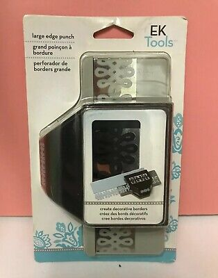 ek success Edger Border Punch craft DAISY CHAIN 54-40022 Edge flower