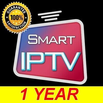 IPTV  SUBSCRIPTION 12 MONTHS SAMSUNG SMART TV LG ANDROID FIRESTICK MAG and VOD