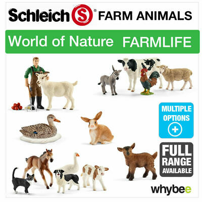Schleich Nature Farm Life Farm Animals Animal Toys & Figures Figurines