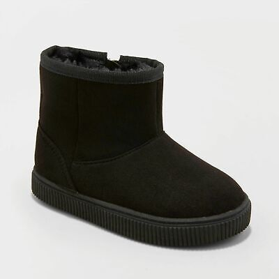 BUY 3 BOYS ARIAS SHERPA LINED ANKLE FASHION BOOTS CAT /& JACK ITEMS GET 50/% OFF
