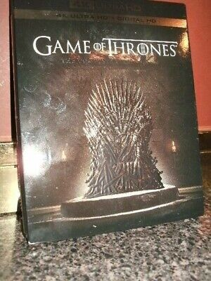 GAME OF THRONES HBO TV Series The Complete First Season 4K Ultra HD (No Digital)