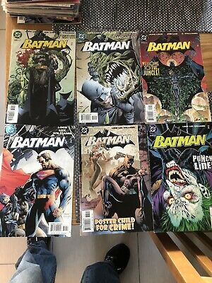 DC Batman Hush Run Comics 609,610,611,612,613,614,615,616,617,618,619 & Variant