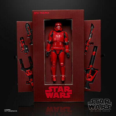 Hasbro Star Wars Black Series Red SITH TROOPER 2019 SDCC COMIC CON Exclusive NEW