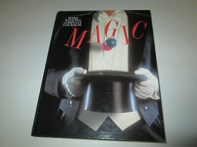 Mark Wilson's Complete Course In Magic hardback book 1988