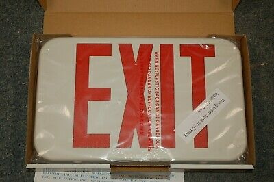 COOPER LIGHTING APX7R COOPER LIGHTING Plastic LED EXIT SIGN - old inventory