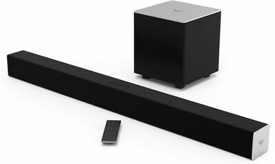 VIZIO SB3821-C6 38 Inch 2.1 Sound Bar Wireless Bluetooth Speaker System (IL/R...