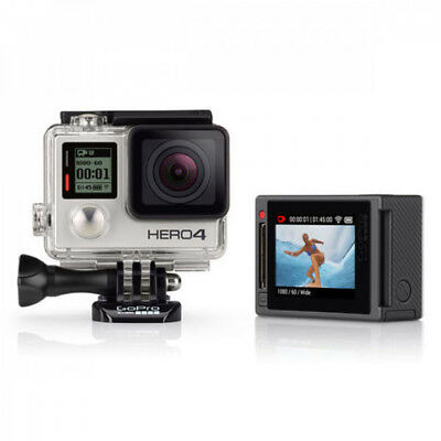 GoPro HERO 4 Silver Edition With LCD Screen CDDHY-401 (IL/RT6-12288-CHDHY-401...