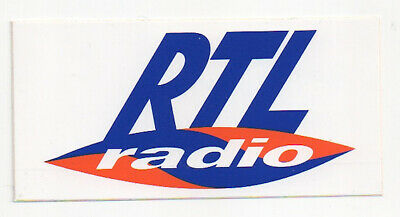 sticker autocollant radio entertainment - RTL RADIO