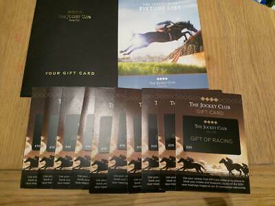 £160 OF JOCKEY CLUB GIFT CARDS - Buy Race Day Tickets At Numerous racecourses