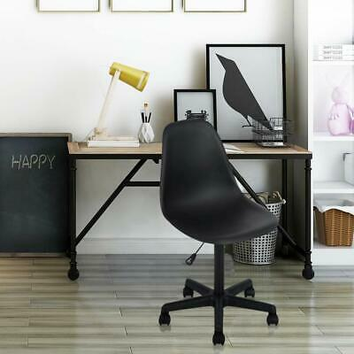 Secretary Office Chair Height Adjustable Swivel Computer Chair With Wheels New