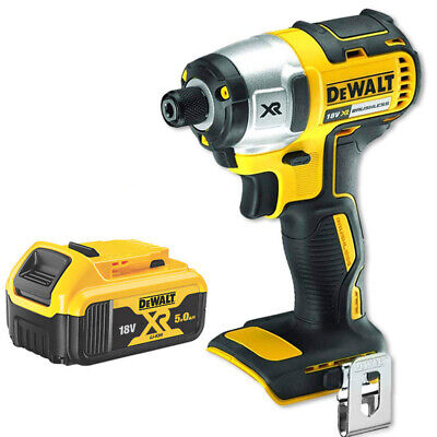 Dewalt DCF886N 18V Cordless Brushless Impact Driver with 1x 5Ah Battery DCB184
