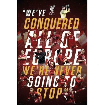 Liverpool Fc  Champions We've Conquered All Of Europe Maxi Poster 90X60Cm - Gift