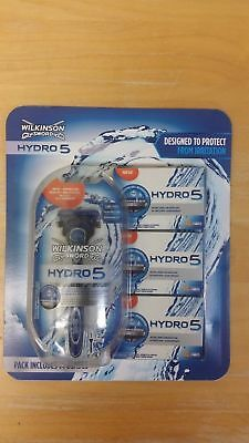 Genuine WILKINSON SWORD HYDRO 5 RAZOR + 14 BLADES CHEAPEST