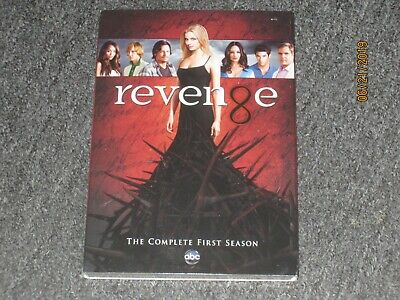 Revenge: The Complete First Season (DVD, 2012, 5-Disc Set) Brand New - Free Ship
