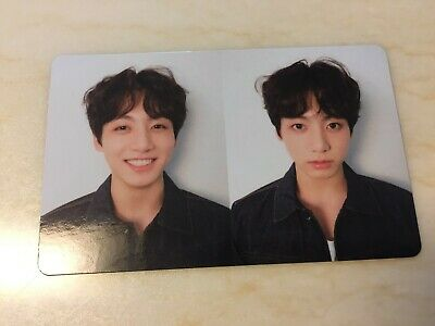 BTS JUNGKOOK [ Love Yourself Tear Official Photocard ] R Ver Fake Love / NEW /+G