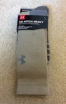 c650a17b4f UNDER ARMOUR MEN'S Hitch Heavy II Crew Boot Socks, 5 Colors - $13.89 ...