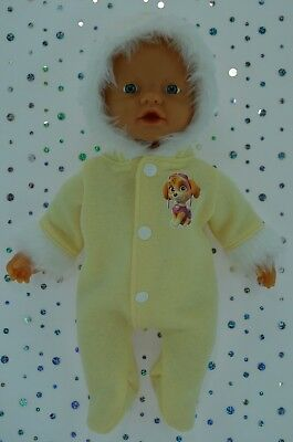 """Play n Wear Dolls Clothes For 13"""" My Little Baby Born/Mommy LEMON SNOWSUIT"""