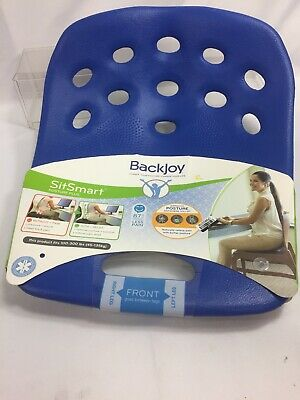 BackJoy Posture Plus For Lower Back Pain - Blue (BJPPS002) Lumbar Portable