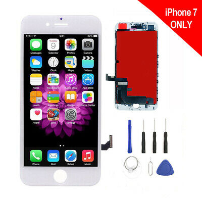 Model A1660 A1778 Screen +LCD Digitizer Assembly Replacement for iPhone 7 White