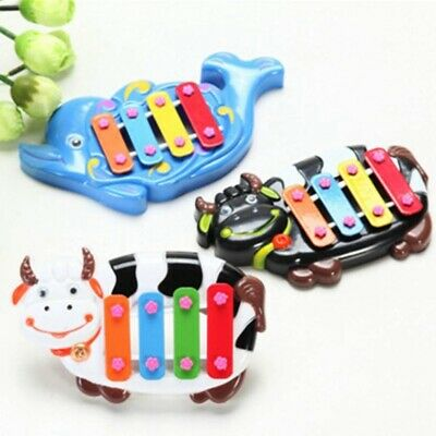Random Color Musical Educational Animal Developmental Bell Toy 4 Tone for #que