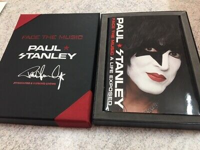 KISS Paul Stanley hand signed Hardcover Book Deluxe Box Set Limited Edition COA