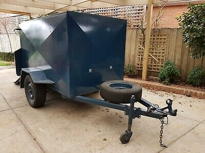 7x4 Heavy Duty Enclosed Trailer with Ramp