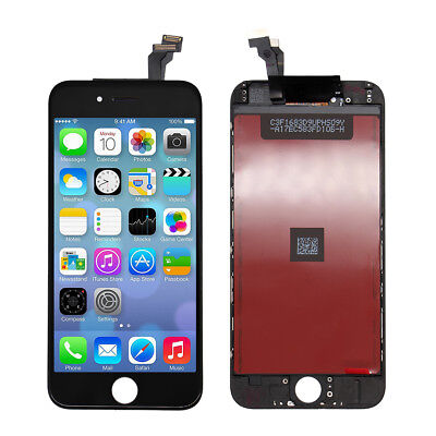 Black Screen Display Replacement LCD Digitizer Assembly for iPhone 6 A1549 A1586