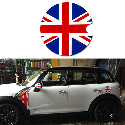 Union Jack UK Flag Gas Tank Cap Cover Vinyl Sticker Decoration For Mini Cooper