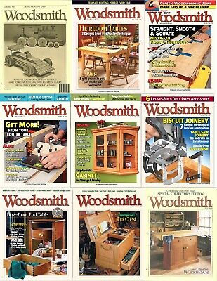 Woodsmith Magazine *COMPLETE RUN ARCHIVE* 1979-2019 (2 DVD) + Extras Pdf's Wood