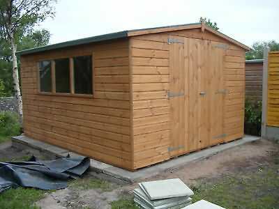 10 x 12 Apex Storage Shed             Fully T & G Claddings