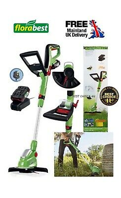 Florabest German Brand  Powerful 20V Li-ion Cordless Lawn Trimmer