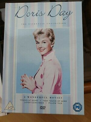 Doris Day - Essential Collection (DVD, 2011, 4-Disc Set)