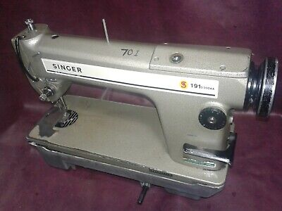 VINTAGE Industrial Singer Sewing Machine Model 191 D300AA.  For Parts or Restore