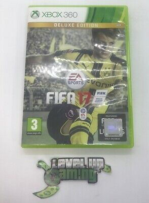FIFA 17 - Deluxe Edition Xbox 360 UK PAL **FREE UK POSTAGE** (NO MANUAL)