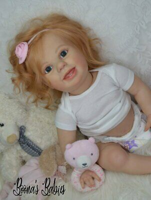 CUSTOM ORDER! Reborn Doll Baby Girl Crawling Toddler Amelia by Bountiful baby