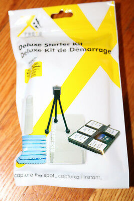 ☆Xitphoto Pro Photography Starter Kit Tripod Cleaning Fluid/Cloth Screen Protect