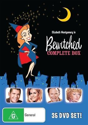 Bewitched COMPLETE Collection Season 1-8 DVD TV SERIES GIFT BOX SET BRAND NEW R4