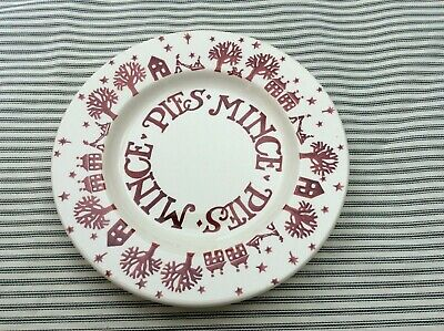 Emma Bridgewater Christmas Town Mince Pie Plate for Collectors