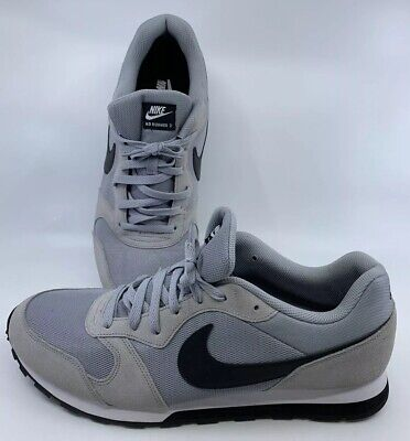 NIKE MD RUNNER 2 Men's Running Athletic Shoes Grey Size