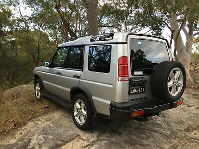 2002 landrover discovery TD5
